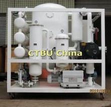 Transformateur de semi-automatique vide d'huile de machine de récupération des déchets