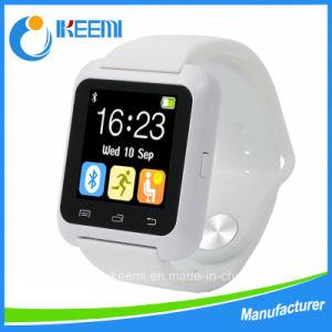 Nuevo de 1,44 pulgadas Bluetooth Podómetro Reloj inteligente Teléfono Móvil U8 U80 Reloj inteligente