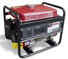 1.3kVA~5.0kVA Gasoline Generator (reeks Elemax)