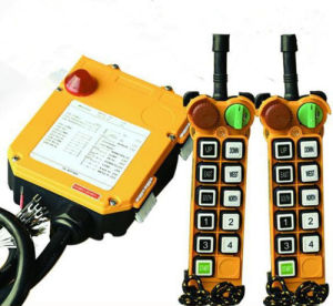 F24-10S/D 433MHz Controle remoto sem fio industrial de Pontes Rolantes