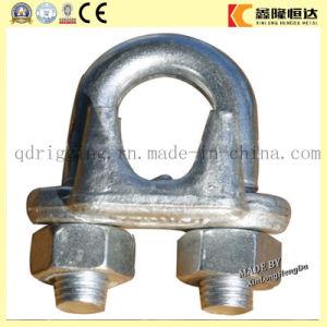 Clip di corda galvanizzata M8 del filo di acciaio dell'ala del doppio del piatto