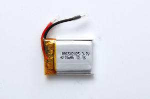 3.7V 210mAhの電源李ポリマー電池
