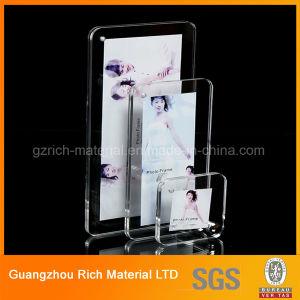 Ímã de Moldura de acrílico/PMMA plástico moldura fotográfica de acrílico