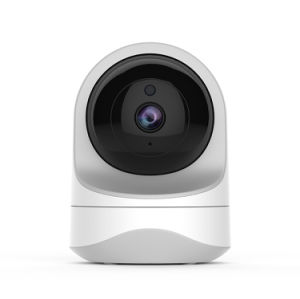 Cámara vigilabebés, Full HD 1080P de la cámara de seguridad inalámbrica WiFi para casa, la mascota de la Cámara de perro y gato, 2 modos de audio, la visión nocturna, funciona con Alexa