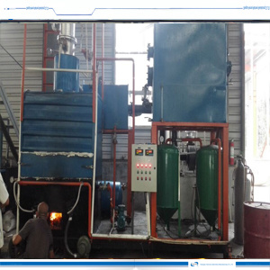 Curde Oil Recycling a Diesel Equipment