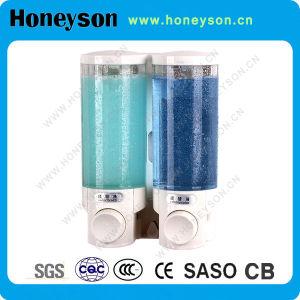 Distributeur de savon liquide de Chrome-Placage de support de mur pour l'usage d'hôtel