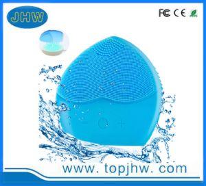 Cepillo de masaje facial exfoliante con cargador inalámbrico
