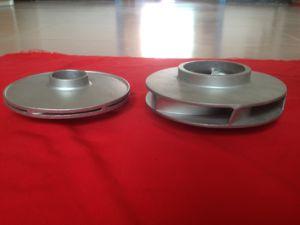 El impulsor de fundición de hierro Casting-Precision Rueda (HS-PC-004)