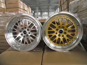 Jante de alumínio de réplica para carro roda