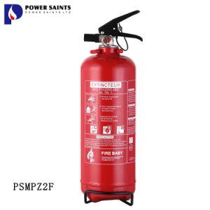 NF Med marcação Portable 2kg de pó ABC Extintor de Incêndio