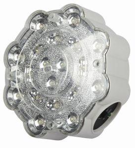 Flitslicht van de Schijnwerper van de Brand van de Vlek van de Noodsituatie van Dawn IP65 LED het Tweeling Lichte Navulbare (HK-4199)