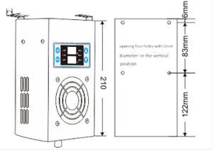 Kleines LED-Bildschirmanzeige-Trockenmittel industriell