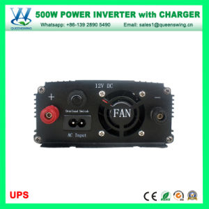 A DC AC Inversor de Energia Solar com carregador de bateria (QW-M500UPS)