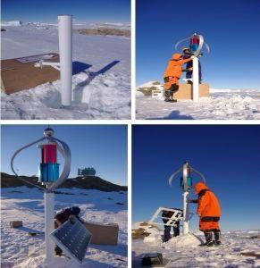 Generatore verticale di energia eolica di asse di CA 96V 1kw