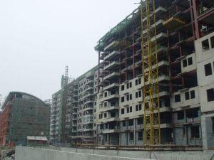 Edificio de estructura de acero de gran altura (HX12070520, ha exportado 200, 000 toneladas)