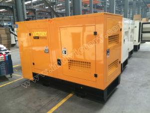generador diesel silencioso del motor de 185kw/231kVA Perkins con la aprobación del Ce