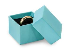 Logotipo personalizado de cartón rígido negro Collar Anillo de joyas de papel embalaje