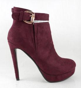 2015 Chaussures femmes sexy pompes avec Party Night Club Stiletto talon de la cheville d'amorçage de boucle