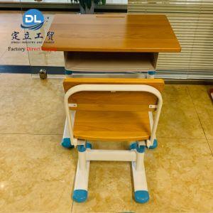 Étude de l'école prix d'usine table bureau en métal pour enfants