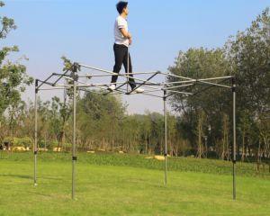 Heißer Verkaufs-knallen Berufsfaltendes Kabinendach-Stahlzelt oben Gazebo