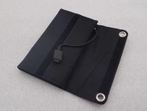 5,5 V 7W Sunpower portátil Cargador Solar Panel plegado