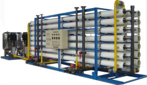 Sistema de agua RO de acero inoxidable para tratamiento de agua/Purication