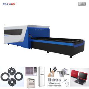 Laser CNC la faucheuse, machine de découpage au laser à filtre pour acier inoxydable, carbone