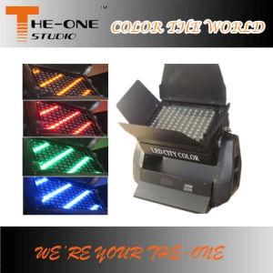 108PCS 5W LEDの壁の洗濯機都市カラー
