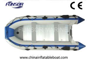 Inflables Funsor barco pesquero con piso de aluminio plegable (Serie D-4.82.0m m)