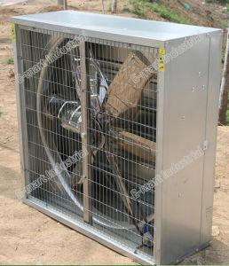 6 Zoll-Gewächshaus-Kühlsystem-elektrischer 380V Absaugventilator