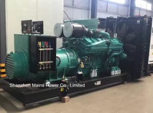 produzione di energia diesel di valutazione standby di Cummins del generatore di 1000kVA 800kw Cummins