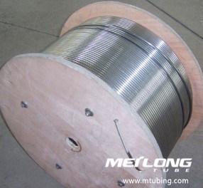 S31803 het DuplexDownhole van het Roestvrij staal Capillaire Chemische Buizenstelsel van de Injectie