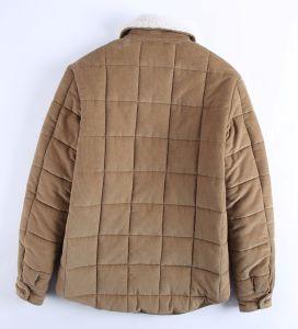 Le fabricant des hommes et de velours côtelé Shearling manteau de fourrure