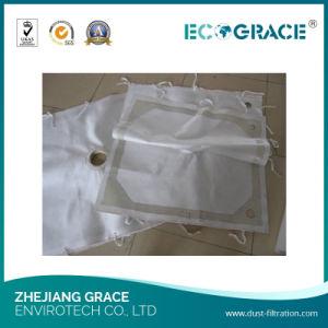 Фильтр Нажмите пластину фильтра тканью с резиновыми горловины (100 микрон)