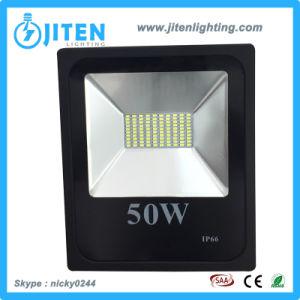 Carcasa de aluminio de 50W proyector LED de iluminación de exterior