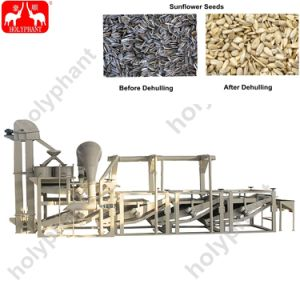 Le Sarrasin Graines de tournesol de chanvre Dehuller Dehulling Machine de traitement