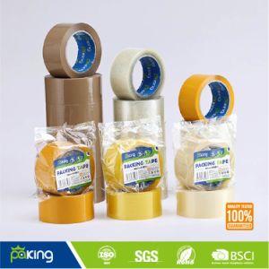 36 рулона на картонной упаковке Тан BOPP клейкой упаковочной ленты
