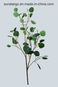 Eucalyptus di seta della pianta di vendita diretta della fabbrica del PE per la decorazione domestica (50681)
