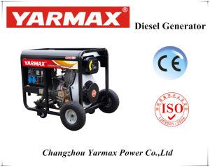 Lärmarmer laufender geöffneter Typ Diesel-Generator