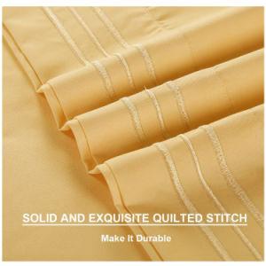 A coleta de microfibras de venda quente Americano Extras Home Produtos Têxteis