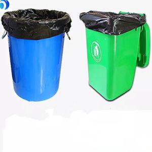 Haute qualité en PEHD à bas prix en PEBD Amidon de maïs biodégradable compostable ménage Médical grand gros poulet Tall Corbeille couleurs Sacs à ordures en plastique noir