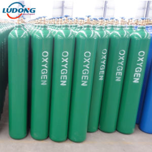 Cilindro de oxígeno de 40 L (el mejor precio de fábrica)