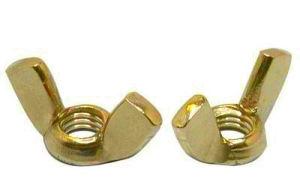 La norme DIN 315 les écrous à ailettes/écrou papillon avec zinc jaune
