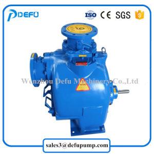 Seule étape à l'horizontale de la pompe centrifuge à amorçage automatique des boues