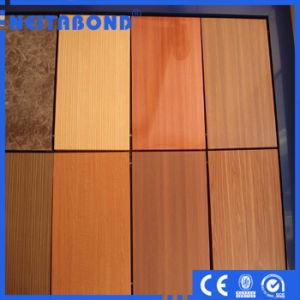 Panneau composite en aluminium en bois pour décoration murale avec le meilleur prix