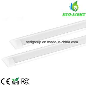 De aluminio de alta potencia y mate plana cubierta de PC de 1,2 m de la luz del tubo LED 40W
