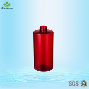 Pulverizador de botellas de plástico de color rojo para Body Lotion 300ml