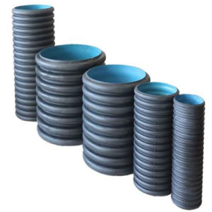 Sewageのための圧力Resistance 150mm HDPE Corrugated Pipe Price