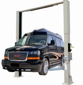 5000kg 투명 플로어 자동 2 포스트 차량 리프트(FL 8215D)