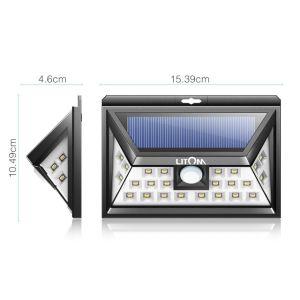 WAND-Licht-Garten-Licht des Solarbewegungs-Fühler-Licht-neues 36LED 54LED Solar
